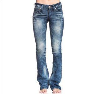 Affliction JADE RISING Boot Cut Denim Jeans